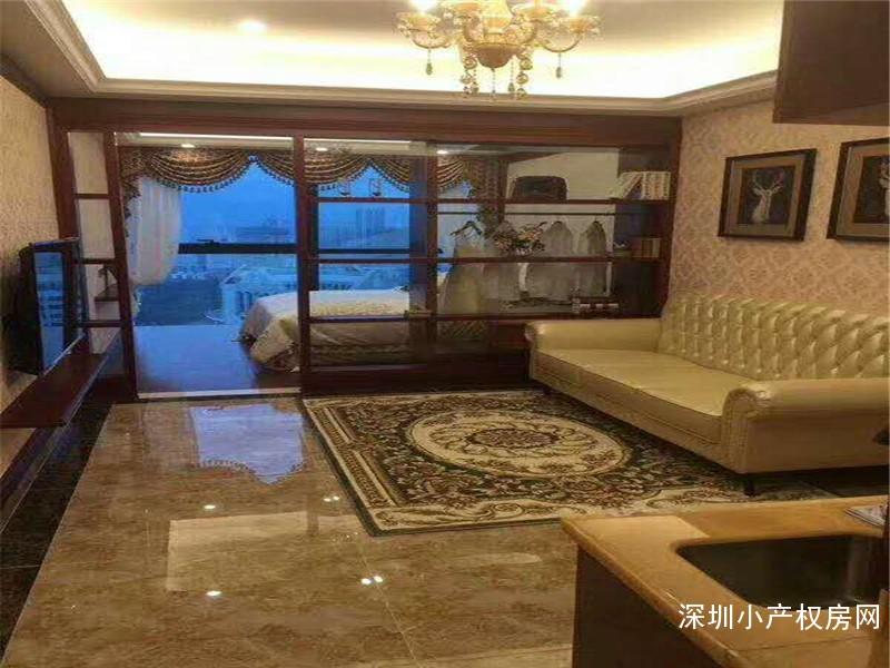 罗湖小产权房荣耀登市《京基峰荟》高端商务军产公寓,广州军区直接盖章