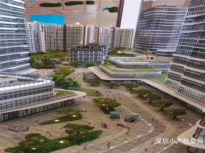 深圳公明小产权《大城领寓》集体大红本房8栋,商品房品质55万一套起