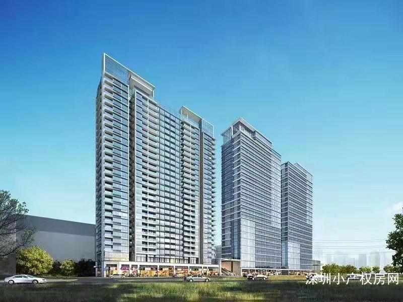 深圳小产权房《澜岭玖著》观澜9栋大红本,公寓,住宅,复式,平层多样选择可分期!