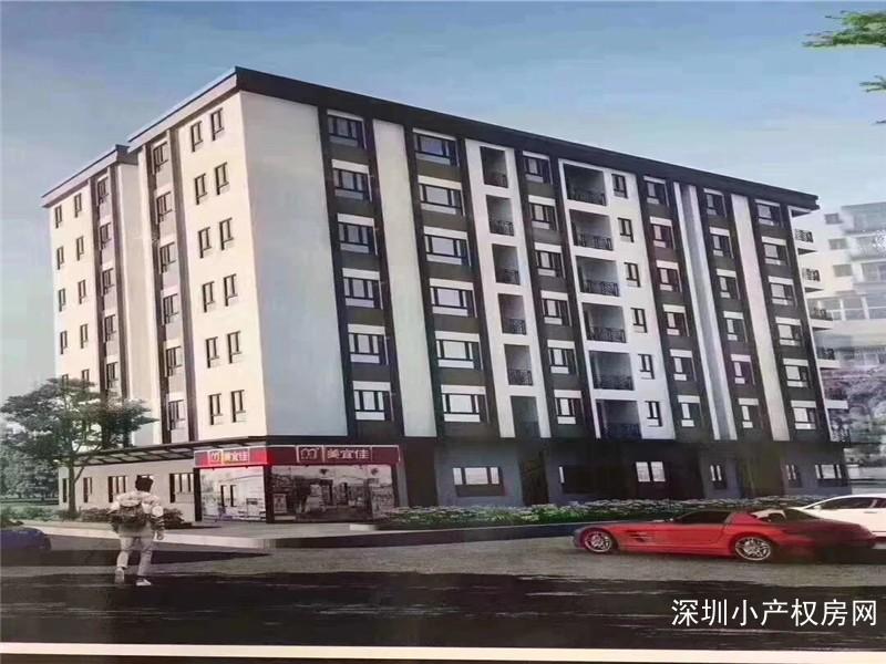 龙岗小产权房《坪地豪苑》坪地稀缺房,唯一在卖便宜的两房43.8万可以改四房