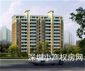 观澜花园小产权房《富士花园》2栋公寓小区房,全新升级,二房42.8万起